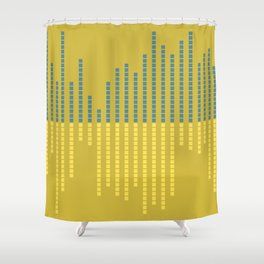 equalizer Shower Curtain