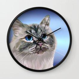 Mandula, the birmann Wall Clock
