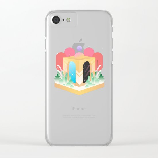 Temple of Time  Clear iPhone Case
