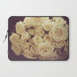 White Roses Laptop Sleeve