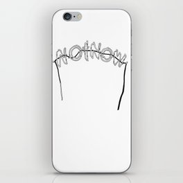 NOT NOW iPhone Skin