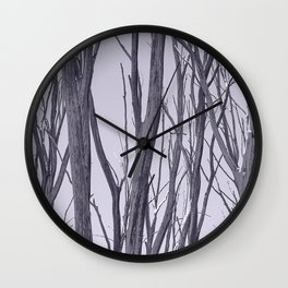 Ghosts of the bushland Wall Clock