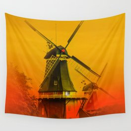 Windmills Wall Tapestry