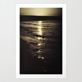 Dawn in Dublin. Art Print