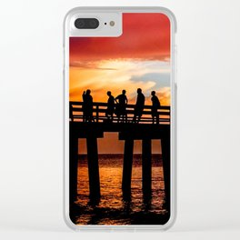 A Day Well Spent Clear iPhone Case