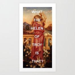 Triple Helen Art Print
