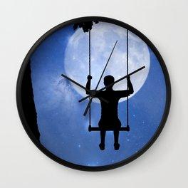 The Swing Wall Clock