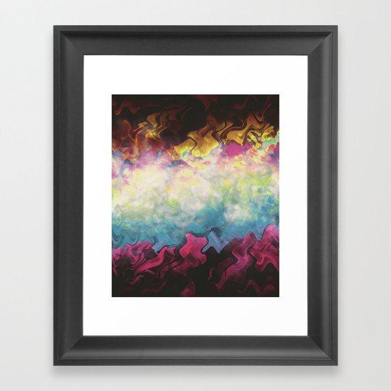 Let's Never Grow Up (PC Vapors III) Framed Art Print