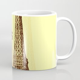 Eiffel Tower, Paris France Coffee Mug