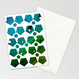 Pentagons of May 29 Stationery Cards