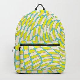 Nature, Mandala, Lemon, Variant, Pattern, Leaves, positivity0260 Backpack