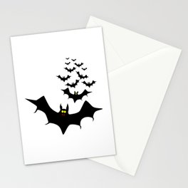 Vampire Bats Stationery Cards