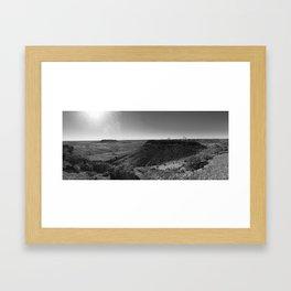 Painted Desert South Australia Framed Art Print
