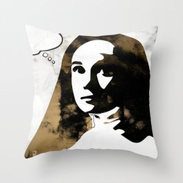 Sister Luke Throw Pillow