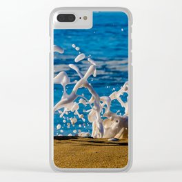 Wedge Wash Clear iPhone Case