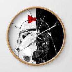 Mini Trooper vs. Vader Mouse Wall Clock