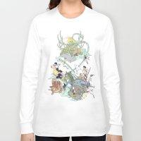 ghibli Long Sleeve T-shirts featuring Ghibli by Alba Palacio