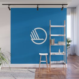 Flag of Nordic council Wall Mural