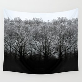 The trees of the mind are black. ' Wall Tapestry