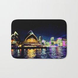 Sydney Opera House Vivid Bath Mat
