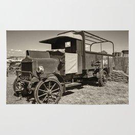 AEC War truck Rug