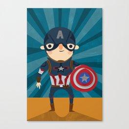cap'n America Canvas Print