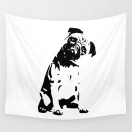 PUG DOG GIFTS Wall Tapestry