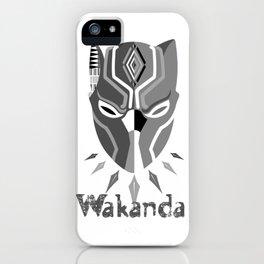 Wakanda Zone iPhone Case