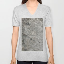 Pockets of Salt on the Rocks by the Sea 02 Unisex V-Neck