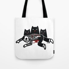 Cat Feast Tote Bag