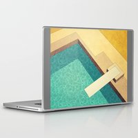 pool Laptop & iPad Skins featuring Pool by Herb Vaine