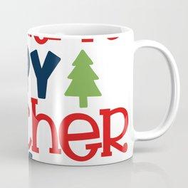 Santa's Spy Teacher Life Coffee Mug