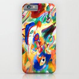 Wassily Kandinsky Composition VII iPhone Case