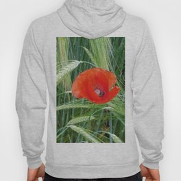 The Red Poppy in the Field Hoody