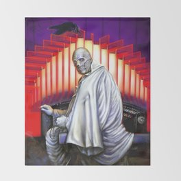 Dr. Phibes Vincent Price horror movie monsters Throw Blanket