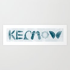 Kernow (Cornwall) Art Print