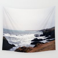 iceland Wall Tapestries featuring Iceland by Ninja Reith