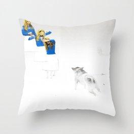 Opus 107 Throw Pillow