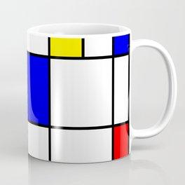 Mondrian #62 Coffee Mug