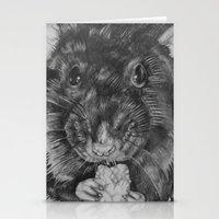 rat Stationery Cards featuring Rat by Natasha Maiklem