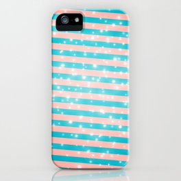Juicy glitter stripes - Color day 1 iPhone Case