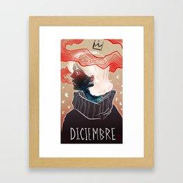 Diciembre Framed Art Print