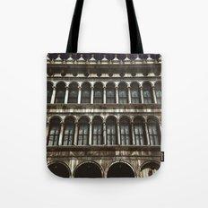 Facade on Piazza San Marco Tote Bag
