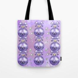 The Joy of Christmas - Purple Tote Bag