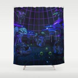 Fungal Fantasy Shower Curtain