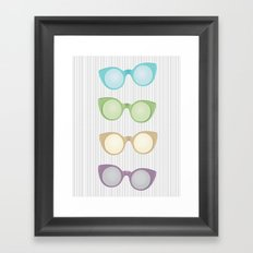 pop sunnies Framed Art Print