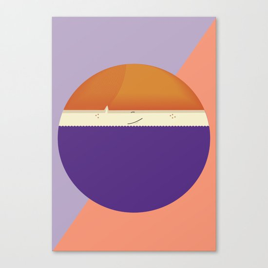 roundy Canvas Print