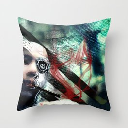 Abstraction, Distraction Throw Pillow