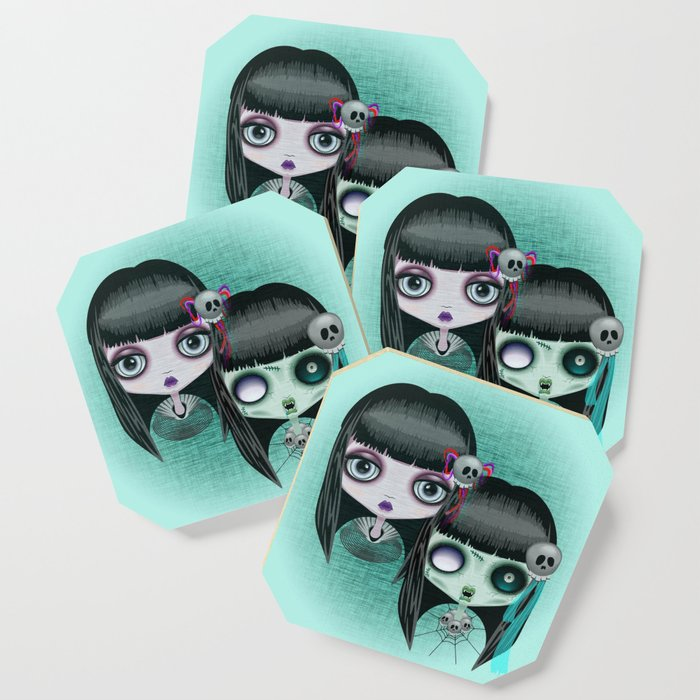 Zombie Doll The Dark Side Coaster