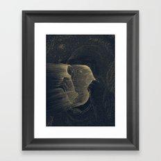 The Blinding Framed Art Print